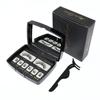 Black Luxury Acrylic Box-6 small clusters