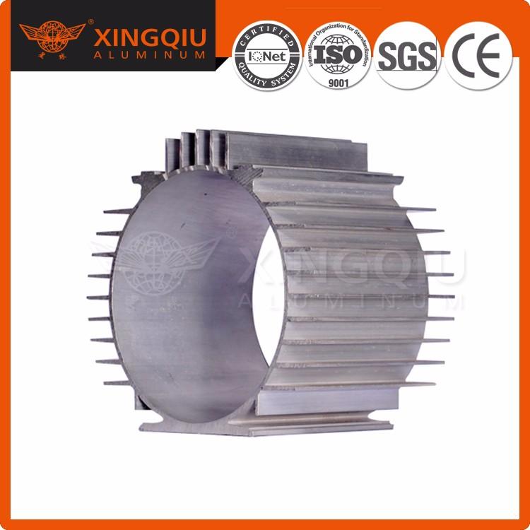 Заводской круглый экструзионный профиль, алюминиевый радиатор