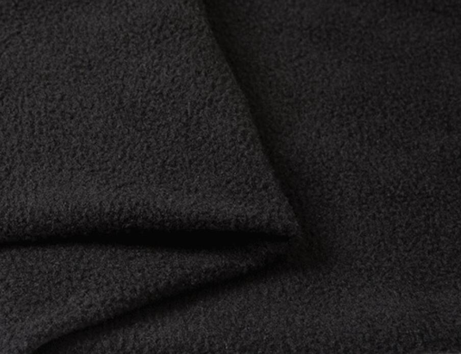 100% polyester double side polar fleece fabric for winter