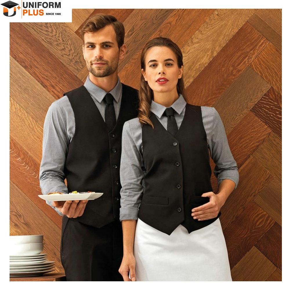 Western hotel bartender concierge uniform