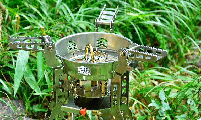 Bulin BL100-B16 cookware gas hiking copper burner cutlery fire stove fire pot