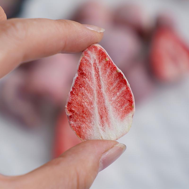 38 г отдельные пакеты для сушеных фруктов, замороженные сушеные продукты, замороженные сушеные клубники