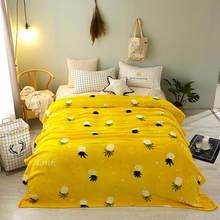 Роскошное детское одеяло с покемоном для взрослых, диван для мальчиков, плед для кровати, искусственный кроличий мех, пушистые флисовые оде...(Китай)