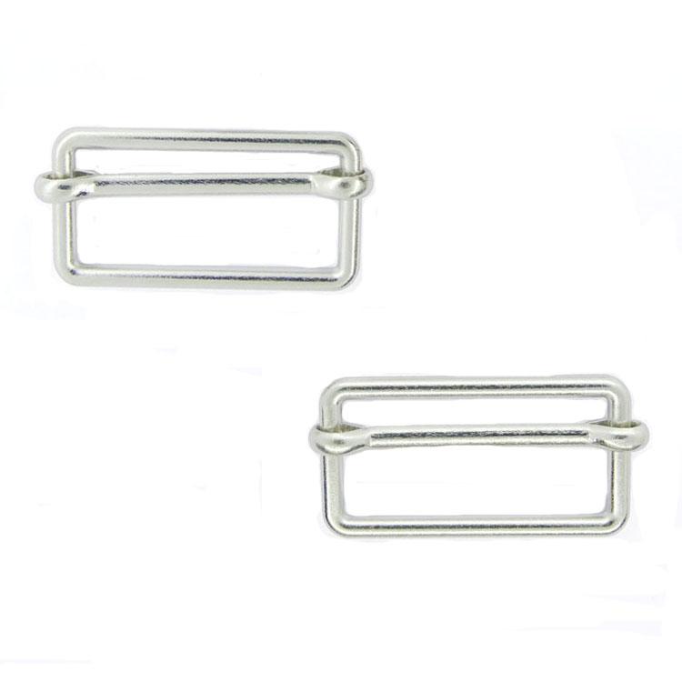 High quality nickel custom adjustable strap belt slide buckle for bagpack