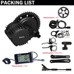 Akkubici BaFang 750/1000w on sale electric bike motor kit 8fun mid drive e bike kit 68/100/120mm electric bicycle conversion kit