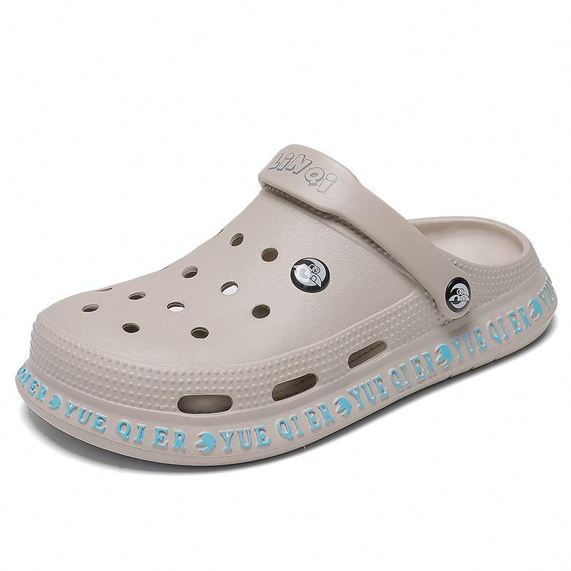 New Arrival Cross  Men'S And Women'S  Flip Flops Clog Shoes Beach Summer Eva Slides Garden Sandal
