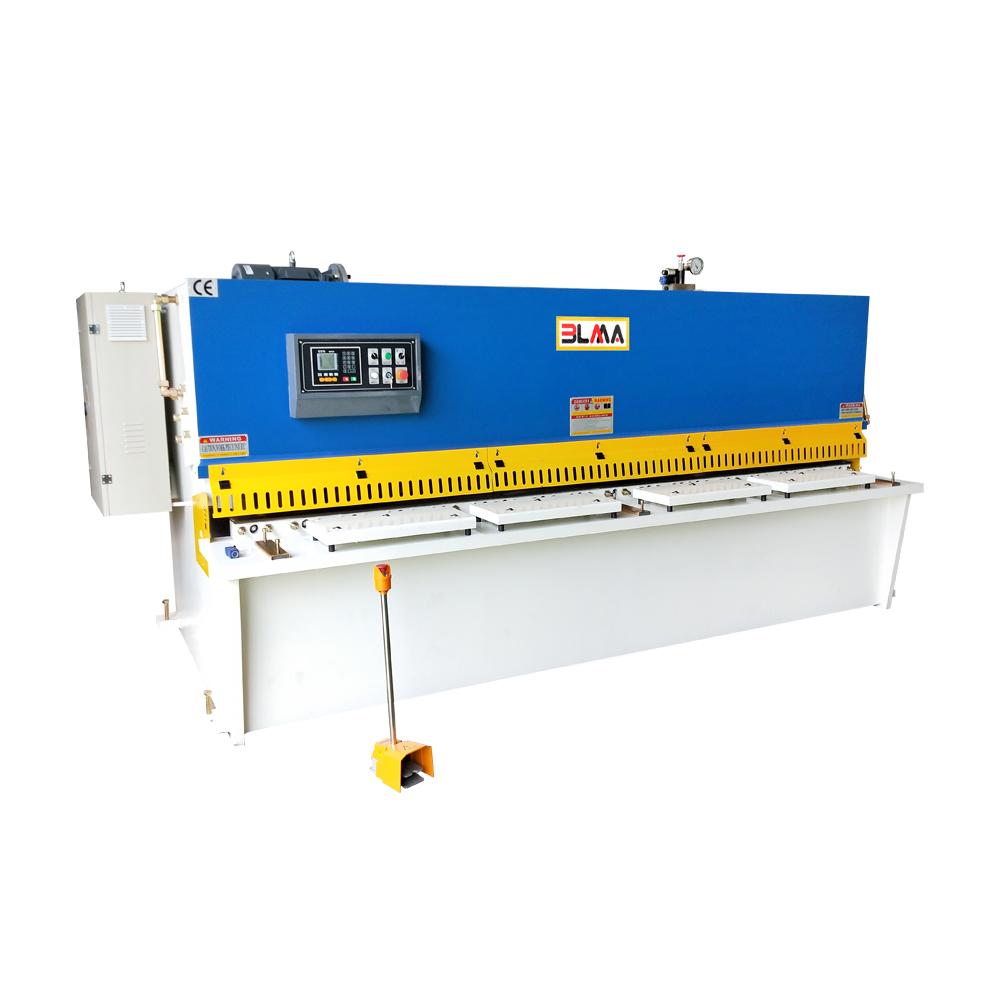 Electric hydraulic iron plate steel metal sheet cnc cutter machine