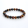 Tricolor Tiger Eye Stone Beads
