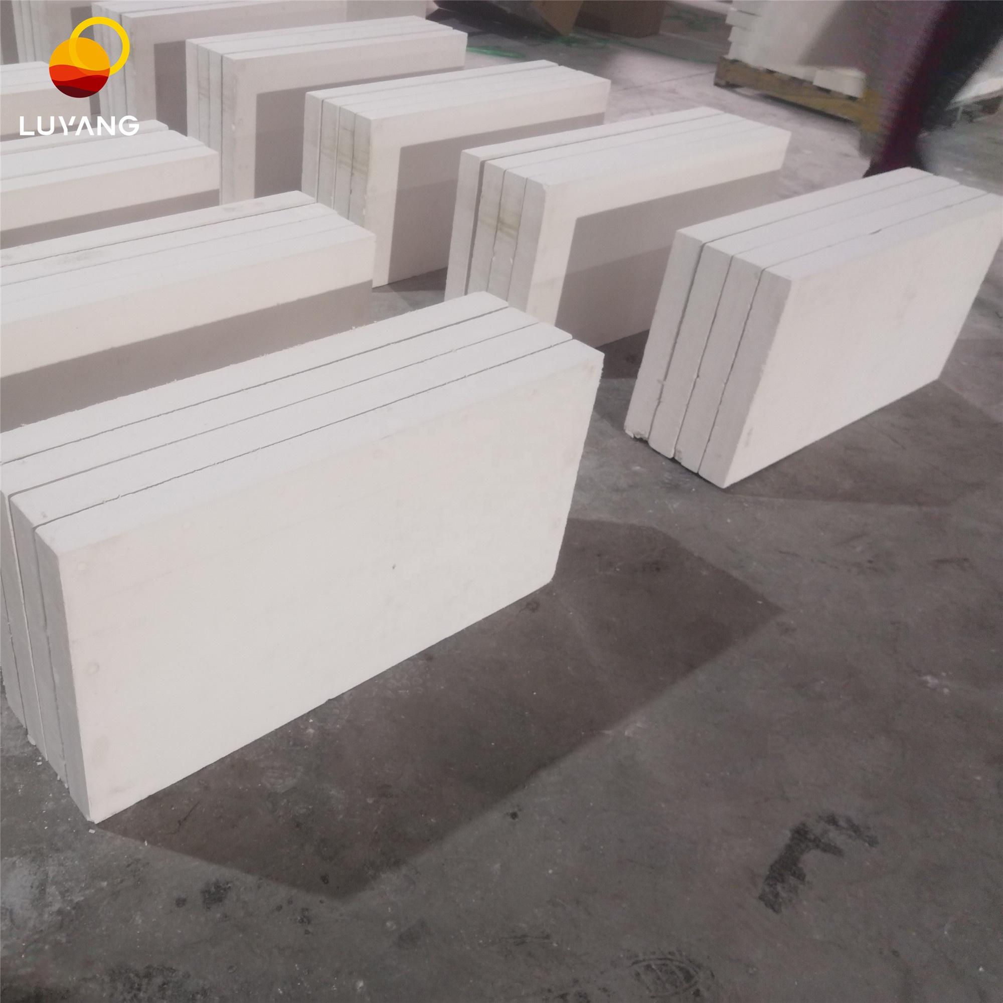 Кремниевая плита LUYANG 600x300x25 мм 220 кг/м3, теплоизоляция 650C, Кремниевая плита для промышленных печей