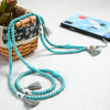 Light Blue beads phone straps