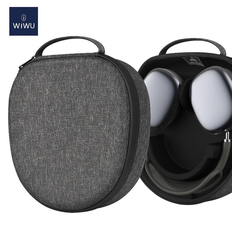 WiWU AirPods Max EVA带休眠智能耳机保护套