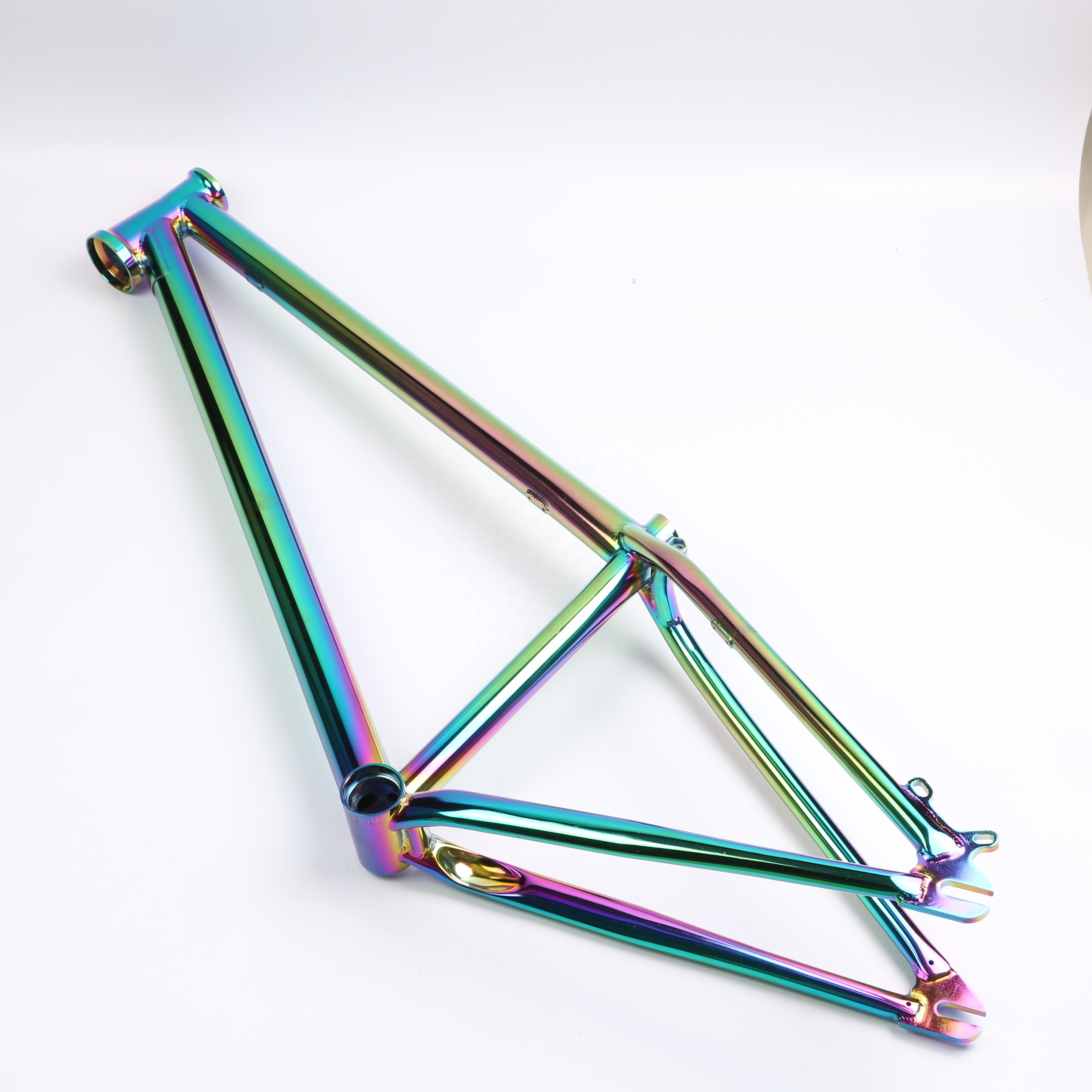 26 full chromoly dirt jump bike frame bicycle frame oil slick colorful rainbow frame view dirt jump frame oem product details from linq bike