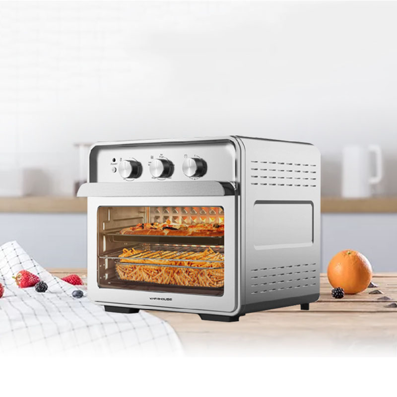 30L Countertop Toaster Oven Large Capacity Oven For Bake Broil Pizza Roast Toast Dehydrate Convection Oven