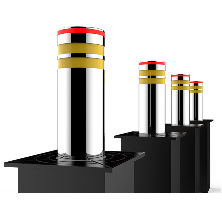 Entrance protection Full -Automatic retractable electronic hydraulic rising bollards