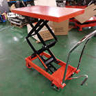 Movable Car Scissor Lift Movable Manual Scissor Car Lift