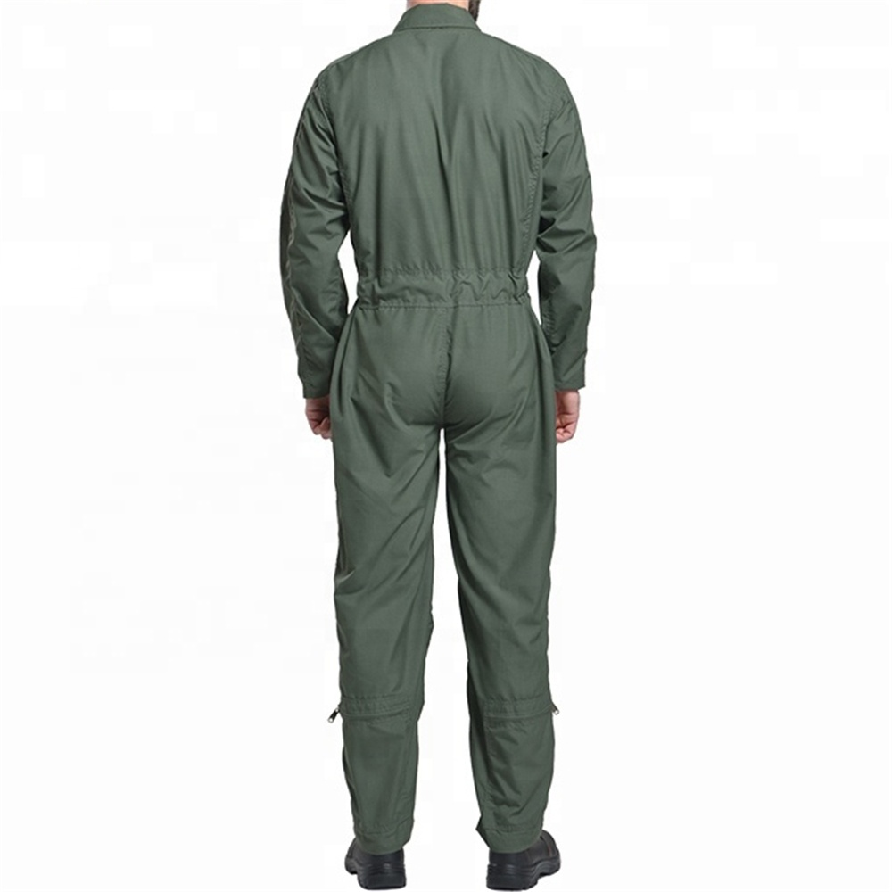 Flying Military Pilot Suit Flight Coverall Flame Retardant Clothing FR rated overalls