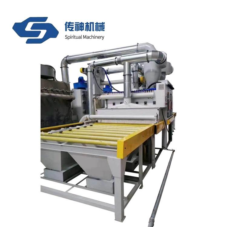 Manufacturer supply horizontal heavy duty wet sand blasting machine