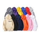 Cotton Fleece Hoodies Custom Plain Hoodie Set Wholesale Printing Embroidery Unisex Swearshirts 100% Cotton Polyeste Fleece Blank Mens Pullover Hoodies