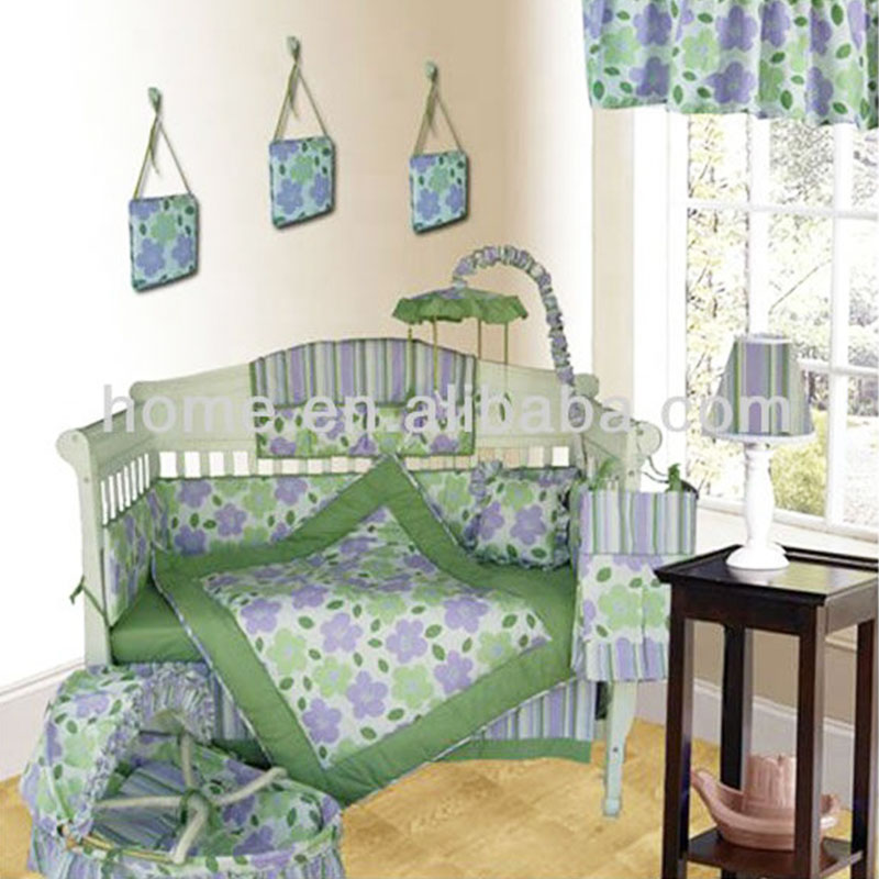Baby Crib Bedding Bed Quilt Fabric