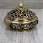 Burner Factory Sells Beautiful Old-fashioned Crafts Incense Burner Household Round Aromatherapy Burner