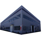 Fabricated Structure Textile Industry Plant / Pre Fabricated Steel Shed Structure Workshop