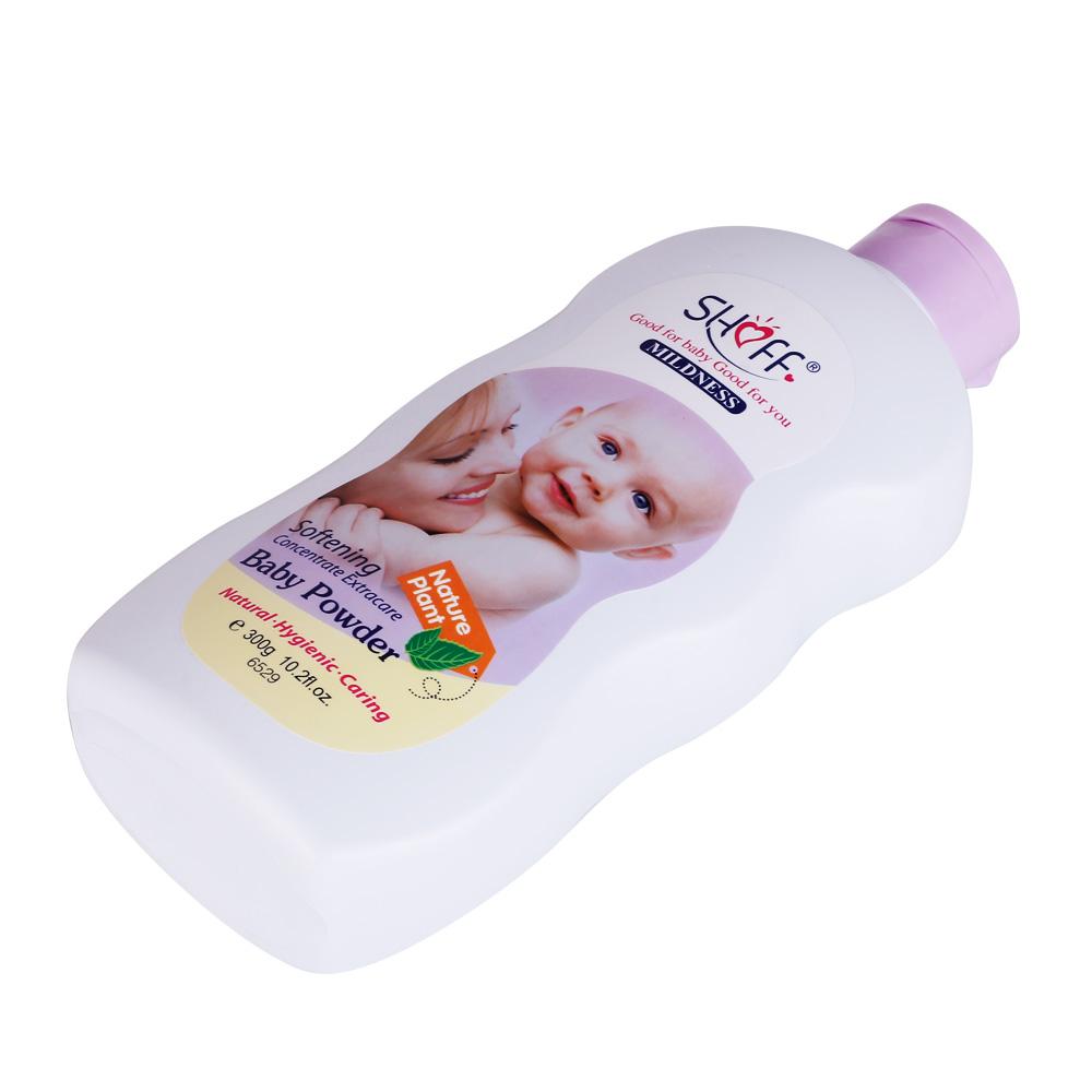 Натуральный органический тальк-порошок для ухода за кожей ребенка, бесплатный образец 300 г