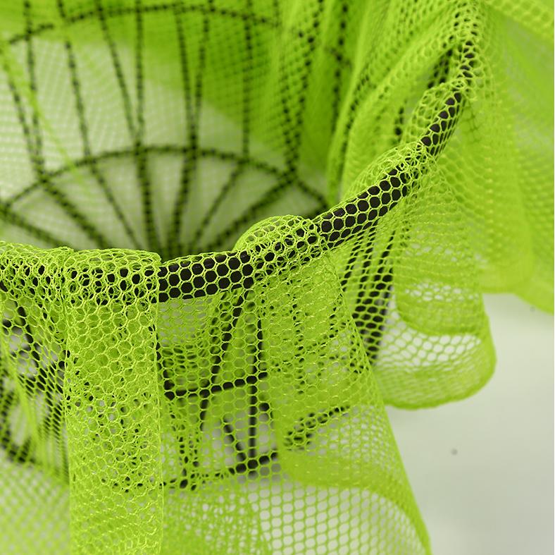 Hexagonal Net Polyester Mesh Fabric For Ball Net Luggage Shoes Mesh