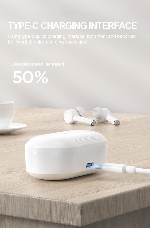 2021 New Style Headphones Wireless True Wireless Earbuds with LED Power Digital Display Headset Stereo Sound in-ear Earphones