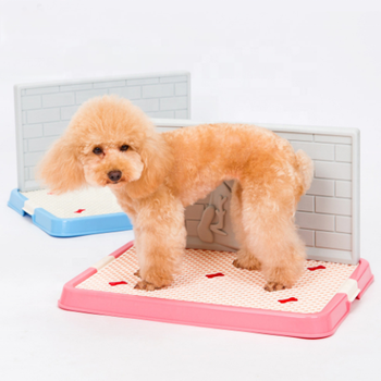Amazon Hot Selling Indoor Dogs Plastic Training Toilet Pet Potty Puppy Toilet