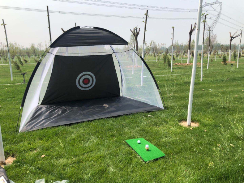Outdoor Indoor Training Chipping Hitting Practice Golf Net With Target