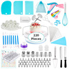 220 PCS Cake Decorating Supplies Kit