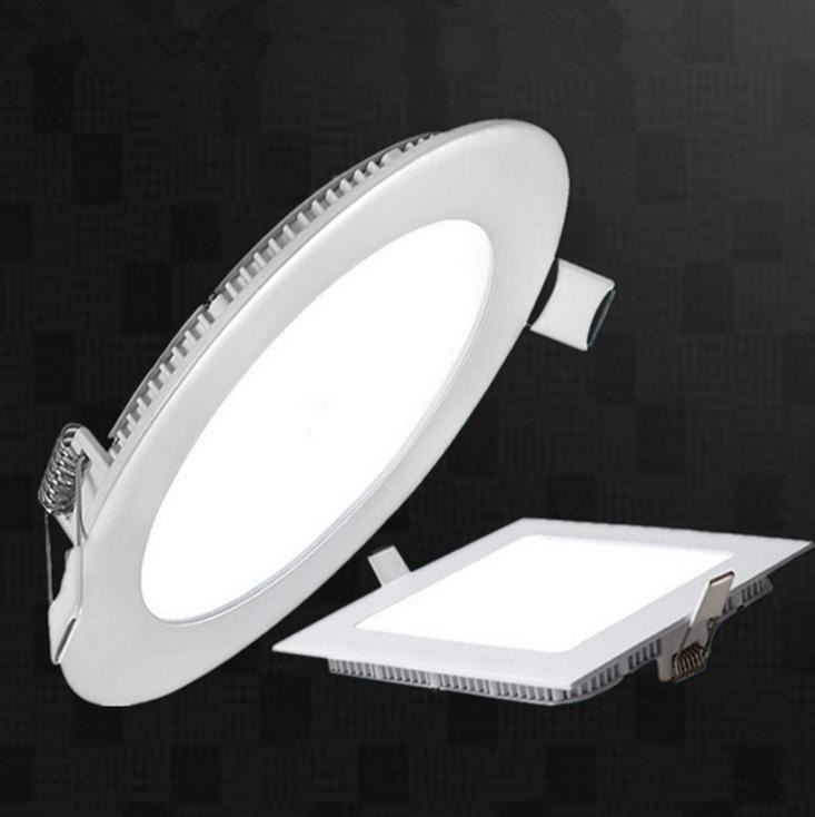 super bright OEM smart dimmable rohs ip44 ultra slim recessed surface mounted frameless round led panel light 18w ceiling price