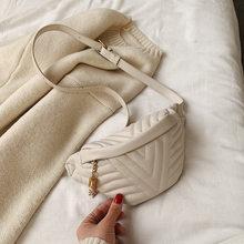 Модная женская сумка-мессенджер, Кожаная поясная сумка, дорожная маленькая поясная сумка для девушек, Женская мини-сумка на плечо(Китай)