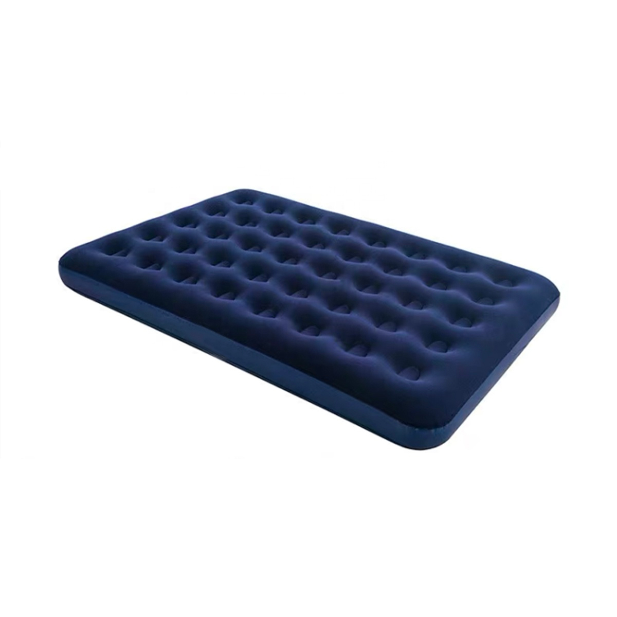 Flocked Air Mattress Blow Up Bed Inflatable double Size Air Bed outdoor camping