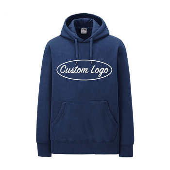 OEM service custom mens cotton poly pullover with unisex custom blank plain mens fleece top brand hoodie