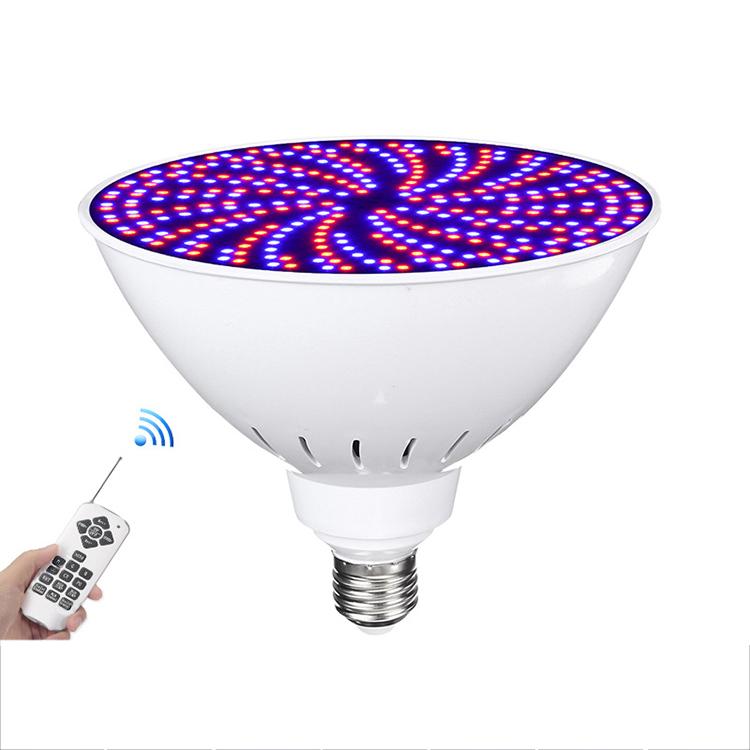 YJN5524 наружное дистанционное управление IP68 SMD E26e27 PAR38 RGB светодиодное Подводное освещение для бассейна