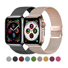 Watch Iwatch Band 4 Strap Milanese Loop Stainless Mesh Steel Watch Straps For IWatch Magnetic Wrist Band For Apple Watch SE 6 5 4 3 2 1