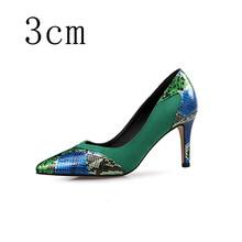 Женская обувь из натуральной кожи; Роскошные женские туфли-лодочки на высоком каблуке; Свадебные туфли с острым носком; Модельные туфли на к...(China)