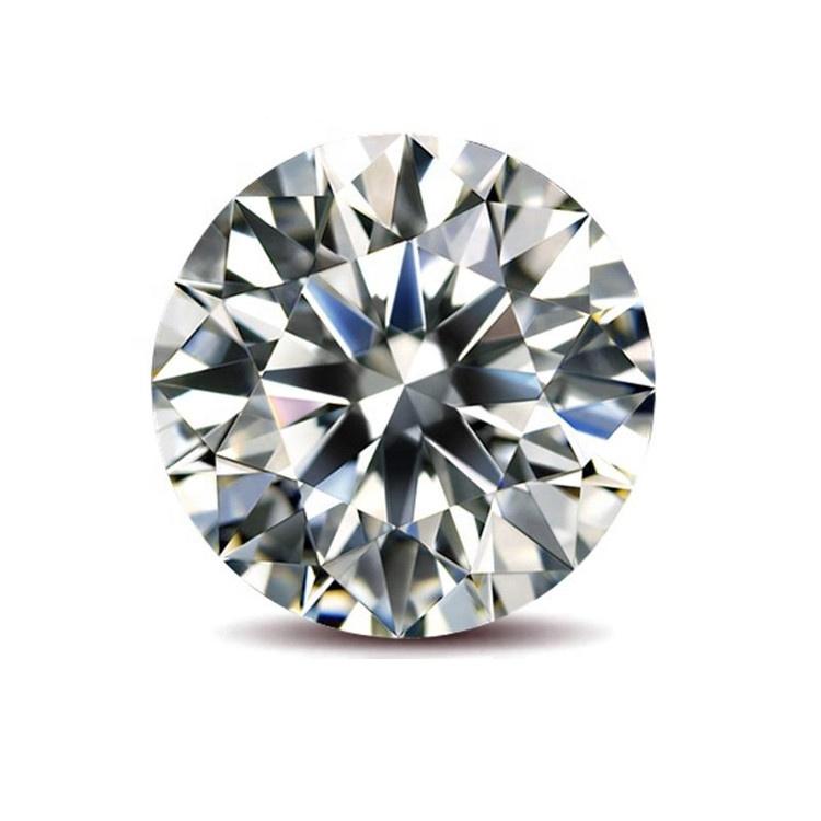 Wholesale jewelry round diamond loose diamond VVS D color 3mm-11mm moissanite
