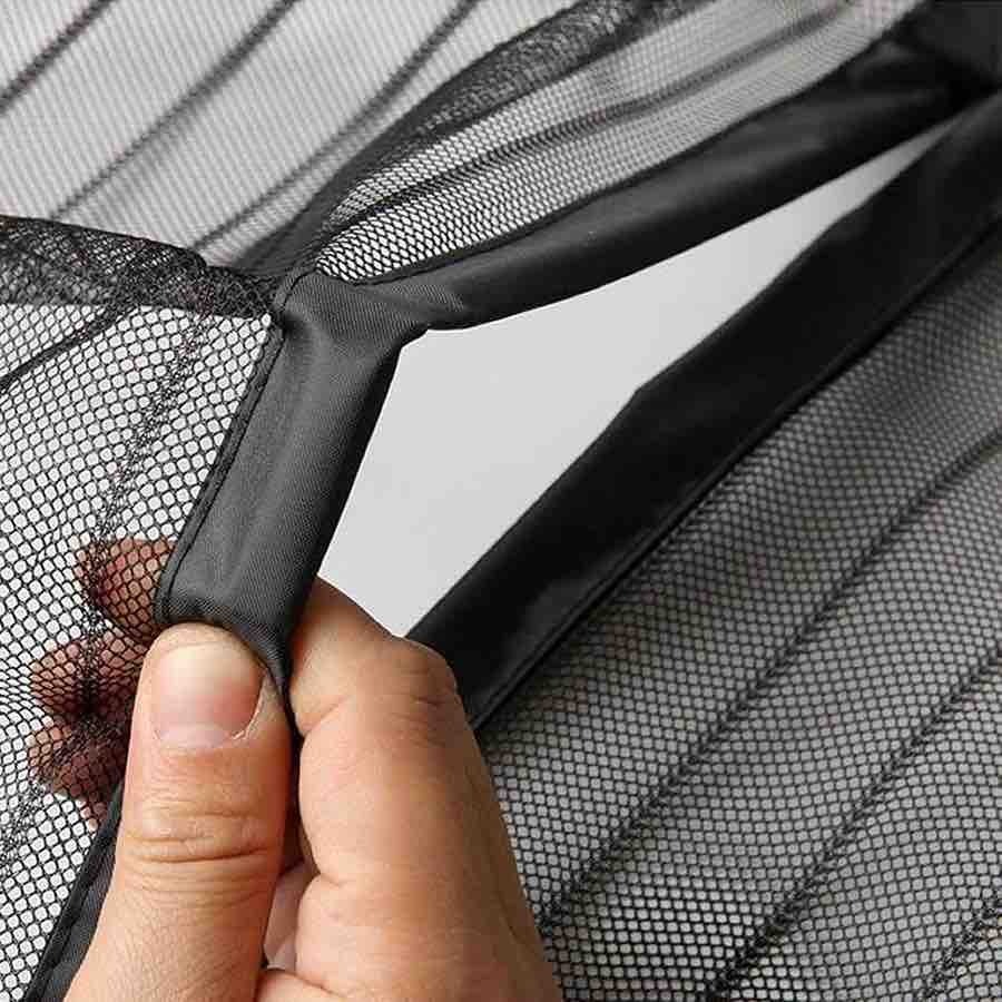 FREE SAMPLE the magnetic strip is insect proof fiberglass polyester mesh