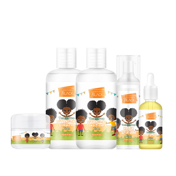Everythingblack Private Label Extreme Moisture Curly Hair Care Products For Kids