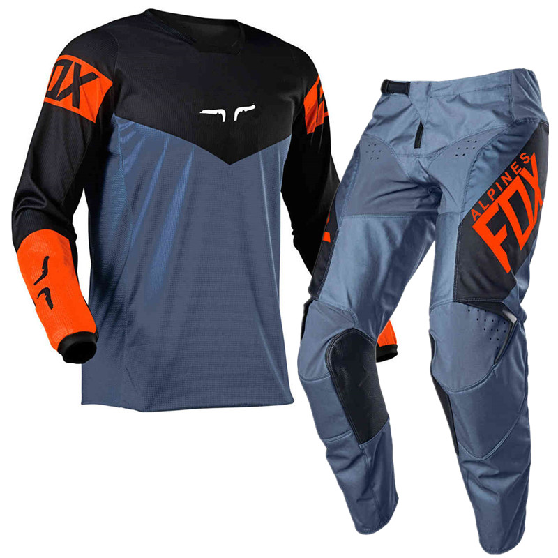 Customized NEW 2021 180 REVN Motocross Jersey and Pants MX Gear Set Combo mtb Off Road motorcycle racing suit enduro