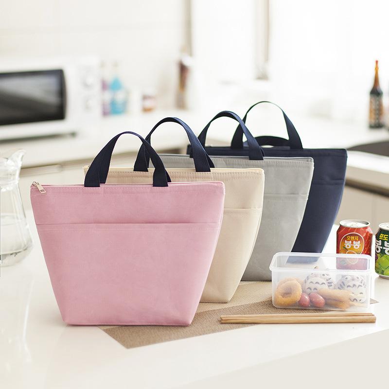 Цветная Водонепроницаемая 300D оксфордская рекламная индивидуальная мягкая изолированная сумка для ланча, сумка-холодильник для пикника для женщин