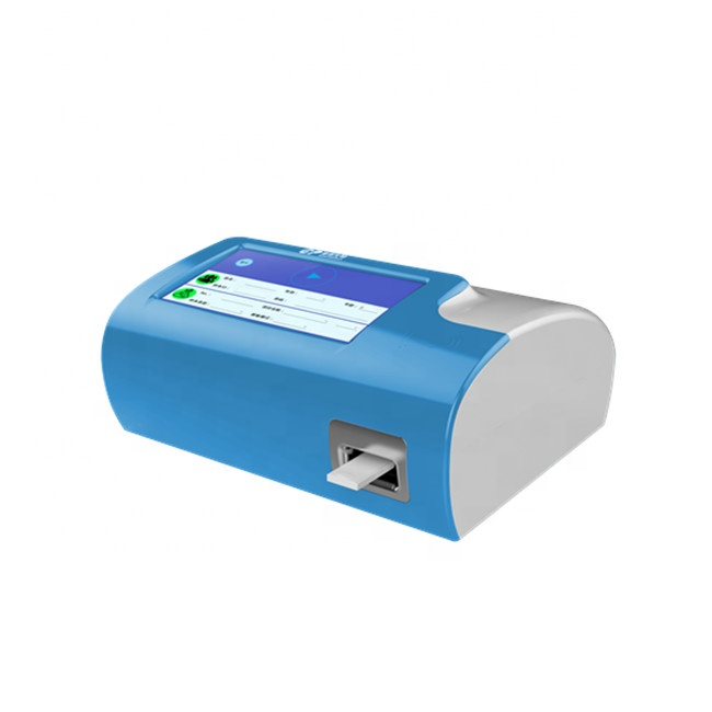 Touch screen immunofluorescence quantitative analyzer hormones analyzer POCT immunoassay analyzer