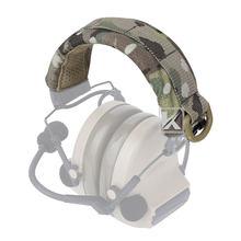 Krydex Тактический Защитный чехол для наушников Универсальный Молл повязка на голову Военная тактика на открытом воздухе аксессуары-черный(Китай)