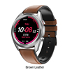 DT91 Smartwatch-Brown-Leather
