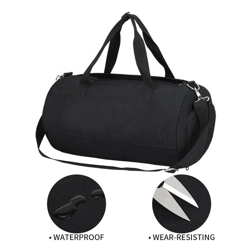 Спортивная сумка для спортзала, черные растущие сумки на заказ, оптовая продажа, Мужская и Женская водонепроницаемая Большая вместительная розовая Спортивная холщовая дорожная сумка для багажа