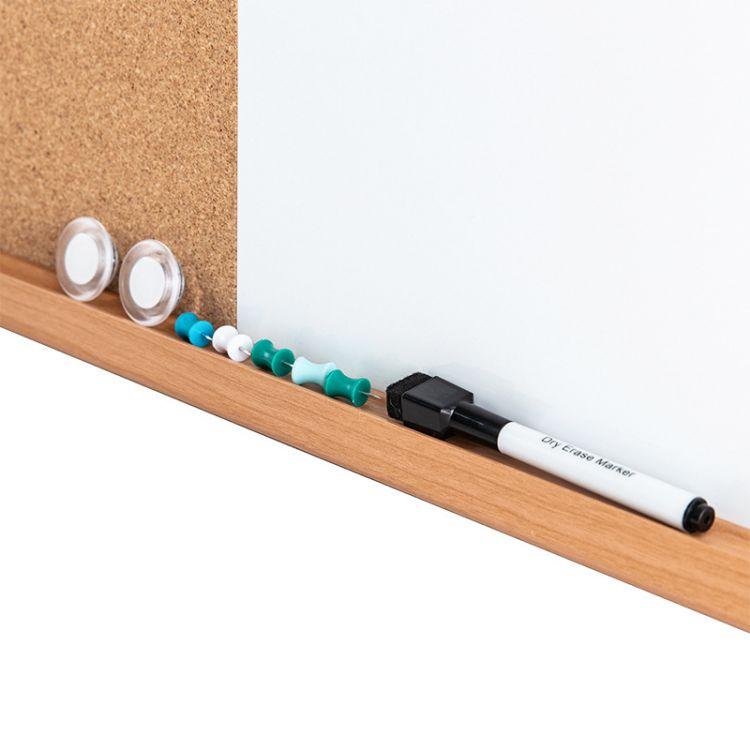 High quality cork 7 panel hat concrete board magnetic dry erase combination - Yola WhiteBoard   szyola.net