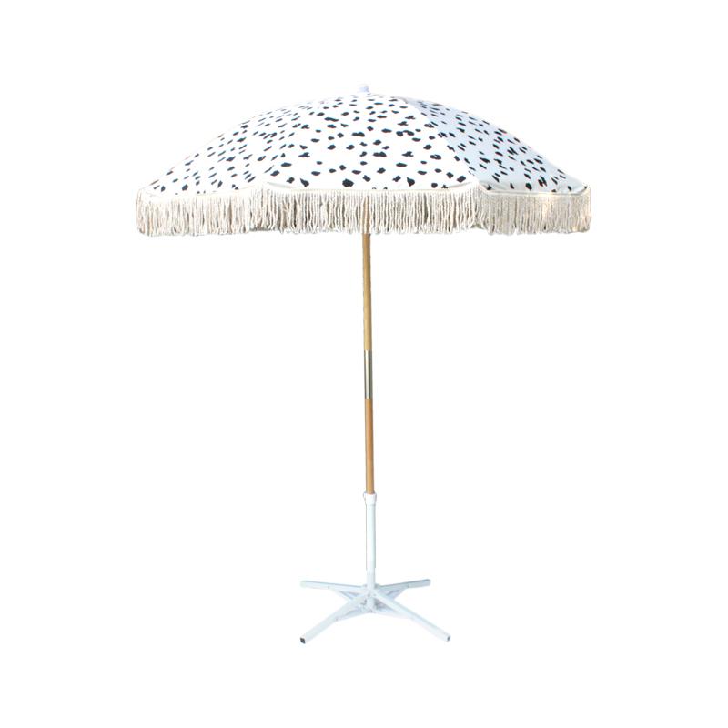 beach umbrella large tassel beach umbrella for outdoor