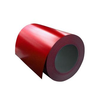 Color coated steel roll plates/PPGL/PPGI coils from shandong supplier